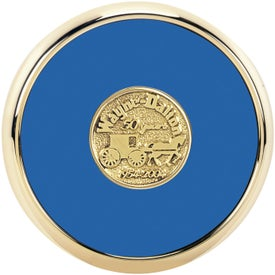 Round Brass Coaster Weight Coasters for Customization