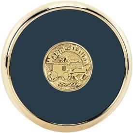 Customized Round Brass Coaster Weight Coasters