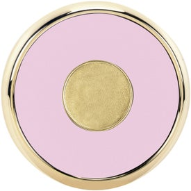 Round Brass Coaster Weight Coasters for your School