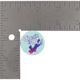 "Company 1 1/4"" Round Cello Button"