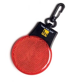 Round Flashing Safety Light Branded with Your Logo