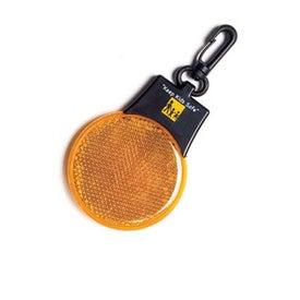 Monogrammed Round Flashing Safety Light