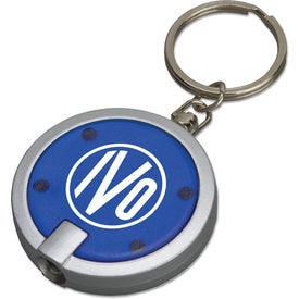 Promotional Round Key Tag Light