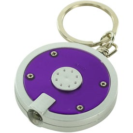 Round LED Key Chain for your School