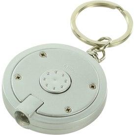 Round LED Key Chain for Marketing