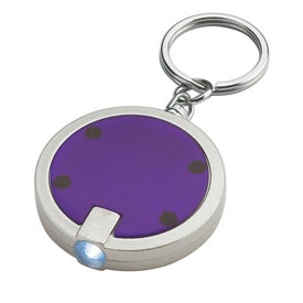 Round LED Key Chain for Your Organization