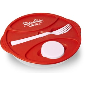 Advertising Round Lunch To Go Container