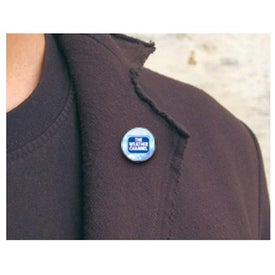 Round Magnetic Pin with Your Slogan