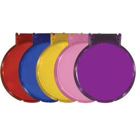 Round Compact Flip Mirror