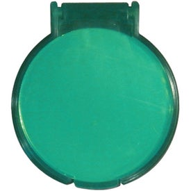Advertising Round Compact Flip Mirror