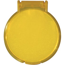 Round Compact Flip Mirror with Your Logo