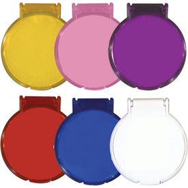 Round Compact Flip Mirror for Promotion