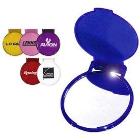 Company Round Compact Flip Mirror