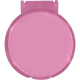 Round Compact Flip Mirror Printed with Your Logo