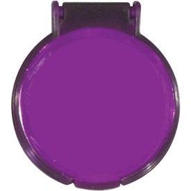 Custom Round Compact Flip Mirror