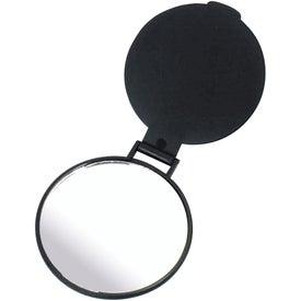 Imprinted Round Mirror