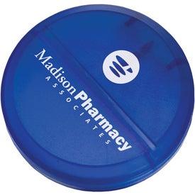 Logo Round Pill Cutter
