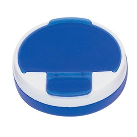 Round Pill Holder Imprinted with Your Logo
