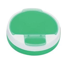 Round Pill Holder for Customization