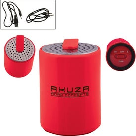 Round Plastic Mini Bluetooth Wireless Speaker
