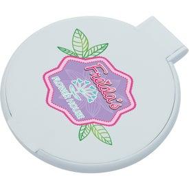 Company Custom Compact Round Mirror