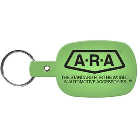 Round Rectangle Key Tag Giveaways