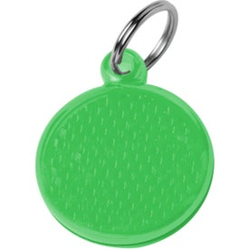 Round Reflector ID Tag for Your Organization