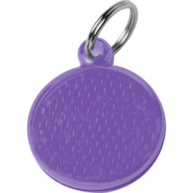 Round Reflector ID Tag for Your Company