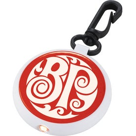 Round Reflector Light Imprinted with Your Logo