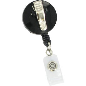 Custom Round Retractable Badge Holder