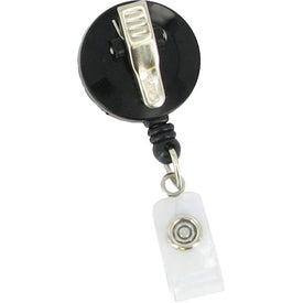 Custom Round Retractable Badge Holder