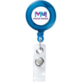 Round Retractable Badge Holder for Promotion