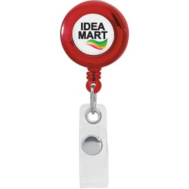 Round Retractable Badge Holder for Your Organization