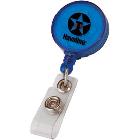 Round Retractable Badge Holder for Your Church