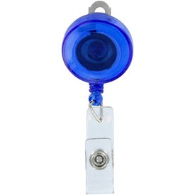 Advertising Round Retractable Badgeholder