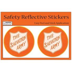 Round Safety Reflective Stickers