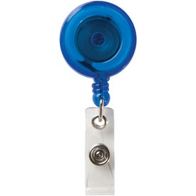 Round Secure-A-Badge Holder for Your Company