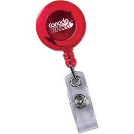 Round Secure-A-Badge Holder