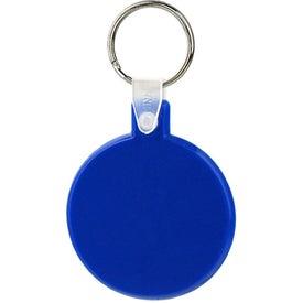 Branded Round Soft Key Tag