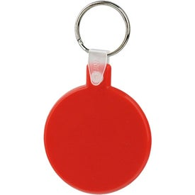 Logo Round Soft Key Tag