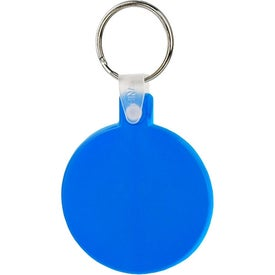 Round Soft Key Tag for Your Company