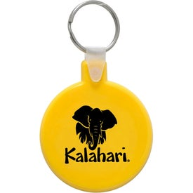 Printed Round Soft Key Tag
