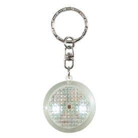 Round Soft Touch LED Key Chain Giveaways