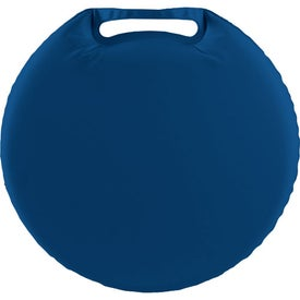 Round Stadium Cushion Branded with Your Logo