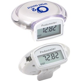 Advertising Round Step Pedometer