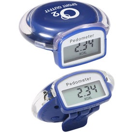 Custom Round Step Pedometer