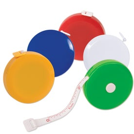 Personalized Round Tape Measure