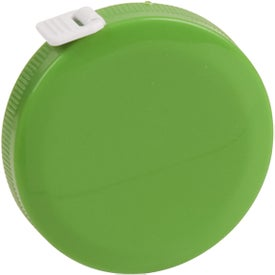 Personalized Round Tape Measure with Your Slogan
