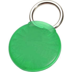 Round Twist-Ease Keyholder Printed with Your Logo