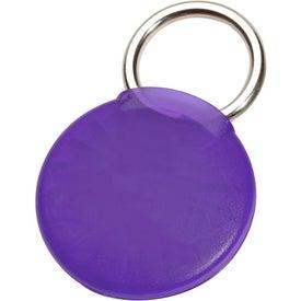 Monogrammed Round Twist-Ease Keyholder
